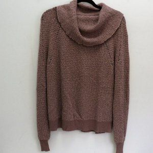 Free People Rose Blush Oversized Sweater